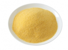 corn flour on an white plate