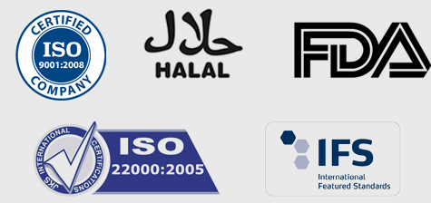 ISO, IFS, FDA & Halal Certification