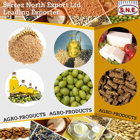 agricultural products for exports